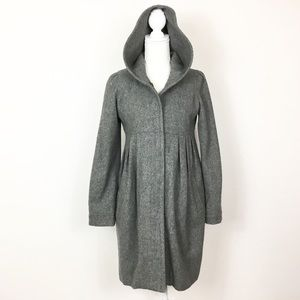 Paul & Joe Sister Wool Hooded Coat Jacket